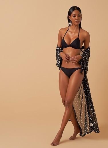 Loves You Düğümlü Bikini Alt Siyah